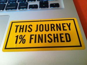 이제 시작이다 (This Journey 1% Finished)