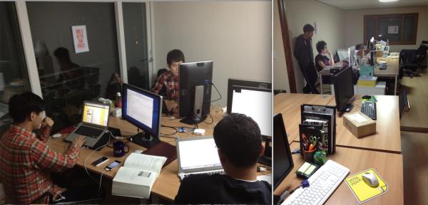 두 번째 사무실 (역삼, 2011년 12월 - 2012년 5월)