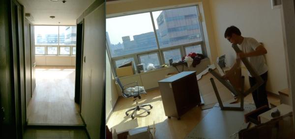 첫 번째 사무실 (용산, 2011년 2월 - 2011년 12월)